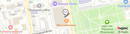 PANORAMA FITNESS на карте Екатеринбурга