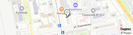Comepay на карте Екатеринбурга