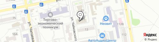 Apfmebel на карте Екатеринбурга