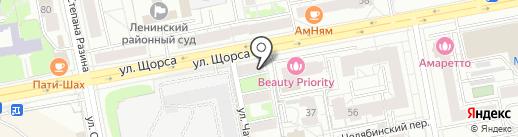 Автолайн.Партс на карте Екатеринбурга