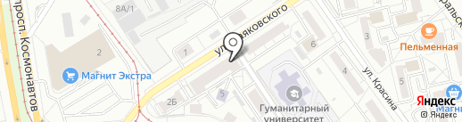 Art Vinyl на карте Екатеринбурга