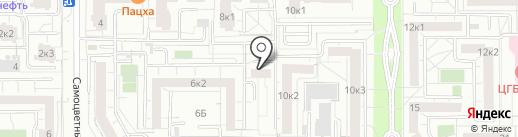 ЭЙДОС на карте Екатеринбурга