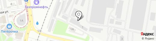 РТК-РТИ на карте Екатеринбурга