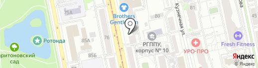 А-ПЛОМБ на карте Екатеринбурга