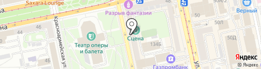 Сувлачная на карте Екатеринбурга
