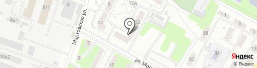 ЛОК-Транс на карте Екатеринбурга