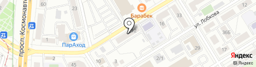 Phone service на карте Екатеринбурга