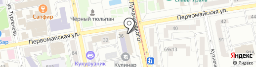 Eshak на карте Екатеринбурга