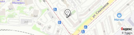 Марьин Дом на карте Екатеринбурга