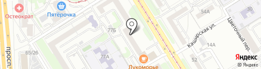 СИТИМАРТ на карте Екатеринбурга