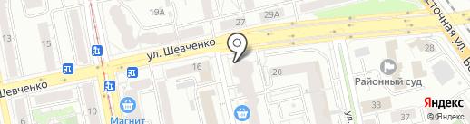 Галоп на карте Екатеринбурга