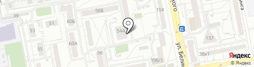Генеральное консульство Кыргызской республики в г. Екатеринбурге на карте Екатеринбурга