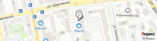 Дизайн-студия Андреевских Наталии на карте Екатеринбурга