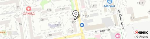 Ton24 на карте Екатеринбурга