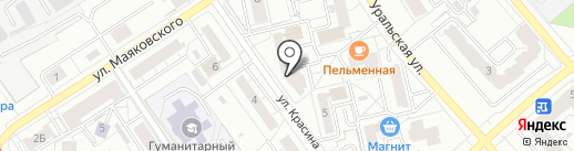 DZS dance school на карте Екатеринбурга