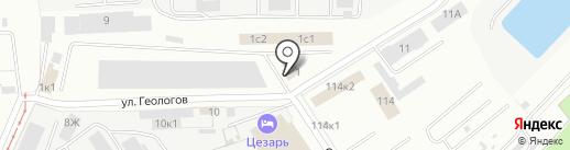 HARDWEX на карте Екатеринбурга