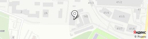 Магазин сварочных материалов на карте Екатеринбурга