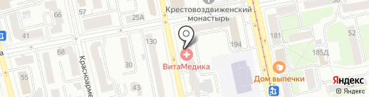 ВитаМедика на карте Екатеринбурга