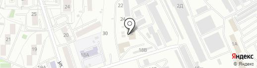 Топгаз на карте Екатеринбурга