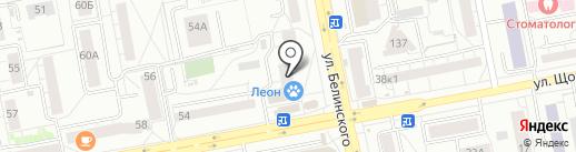 ФЛОРИСТ.РУ на карте Екатеринбурга