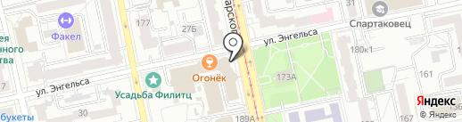 Неоплан.про на карте Екатеринбурга