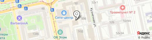 СладкаЯ на карте Екатеринбурга