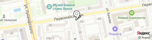 Smart Games на карте Екатеринбурга
