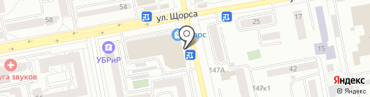 Мир ткани на карте Екатеринбурга