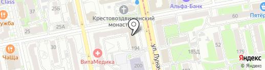 Сокет-Сервис на карте Екатеринбурга
