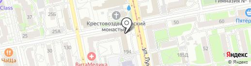 АЛЬЯНССТРОЙСЕРВИС на карте Екатеринбурга