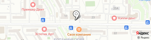 Плутос на карте Екатеринбурга