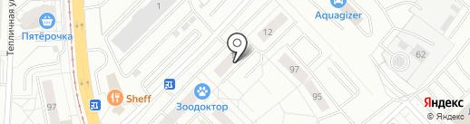 Студия загара на карте Екатеринбурга