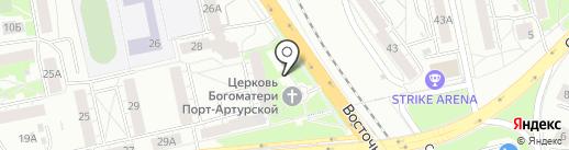 Храм в честь иконы Божией Матери Порт-Артурская на карте Екатеринбурга