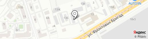 ИМПОРТ-ЗАПЧАСТЬ на карте Екатеринбурга
