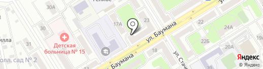 Зазеркалье на карте Екатеринбурга