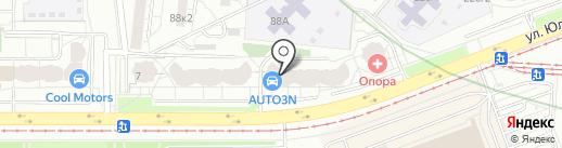Lash kitchen на карте Екатеринбурга