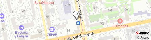 Киоск по продаже молочных продуктов на карте Екатеринбурга