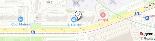 EkatMedia на карте Екатеринбурга