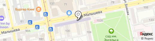 Впрок на карте Екатеринбурга