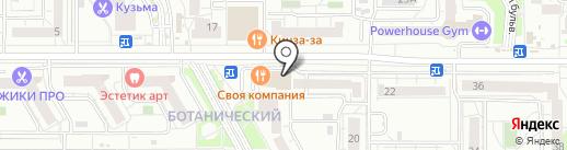 ОпораБизнеса на карте Екатеринбурга
