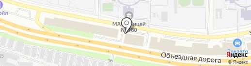 brusberg на карте Екатеринбурга