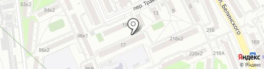 УНИБОС на карте Екатеринбурга