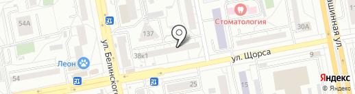 DETALKA на карте Екатеринбурга