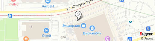 Мульти Текс на карте Екатеринбурга