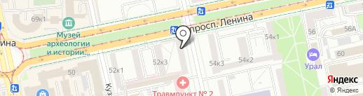 MOST BEAUTY CLUB на карте Екатеринбурга