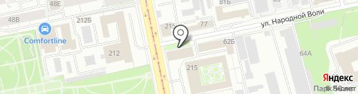 Хочу красиво на карте Екатеринбурга