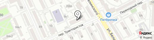Компания по прокату инструмента на карте Екатеринбурга