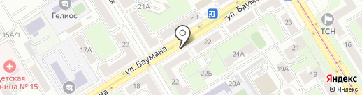 Ателье по ремонт одежды на карте Екатеринбурга