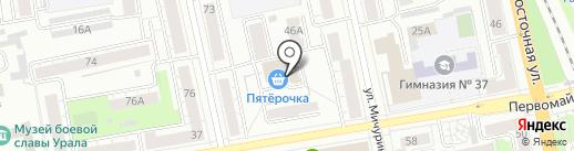 Самоварчик на карте Екатеринбурга