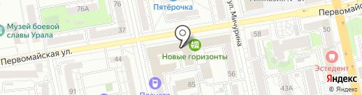 Топ Столовая на карте Екатеринбурга